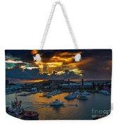 Bermuda Sunset Weekender Tote Bag