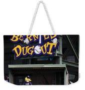 Bernies Dugout Weekender Tote Bag