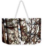Berries And Birches Weekender Tote Bag