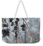 Berries Of Blue Weekender Tote Bag