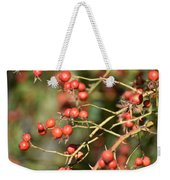 Berry Christmas  Weekender Tote Bag
