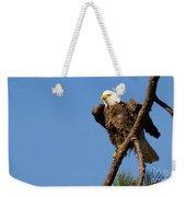Berry Eagle Weekender Tote Bag
