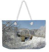 Bert White Bridge Weekender Tote Bag