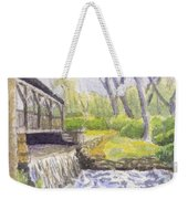 Beside The Dam Weekender Tote Bag