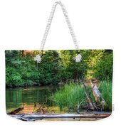 Beside The River Weekender Tote Bag