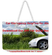 Best And Affordable Car Services Company. Weekender Tote Bag