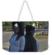 Best Friends 8 Weekender Tote Bag