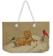 Best Of Friends Weekender Tote Bag by Ginny Youngblood