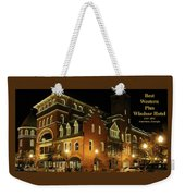 Best Western Plus Windsor Hotel - Christmas -2 Weekender Tote Bag