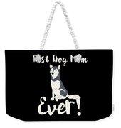 Bestdogmomever Husky Weekender Tote Bag