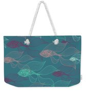 Beta Fish  Weekender Tote Bag by Mark Ashkenazi