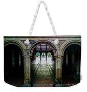Bethesda Terrace Arcade 1 Weekender Tote Bag