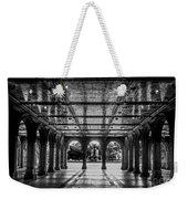 Bethesda Terrace Arcade 2 - Bw Weekender Tote Bag