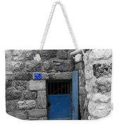 Bethlehem - Blue Old Door Weekender Tote Bag