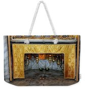 Bethlehem - Grotto Silver Star Weekender Tote Bag