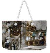 Bethlehem - Inside Nativity Church 1890 Weekender Tote Bag