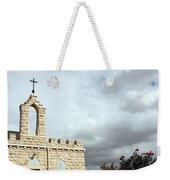 Bethlehem - Milk Grotto Cross Weekender Tote Bag