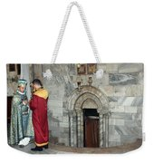 Bethlehem - Nativity Church - Preparation For Armenian Mass Weekender Tote Bag