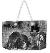 Bethlehem - Nativity Scene Year 1900 Weekender Tote Bag