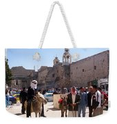 Bethlehem - Nativity Square Demonstration Weekender Tote Bag