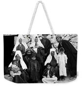 Bethlehem Family In 1900s Weekender Tote Bag