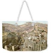 Bethlehem Mar Saba Monastery Weekender Tote Bag
