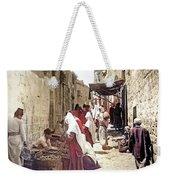 Bethlehem Market 1900 Weekender Tote Bag
