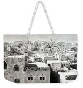 Bethlehem Old Town Weekender Tote Bag by Munir Alawi