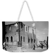 Bethlehem Police Barracks Burned Down On 1938 Weekender Tote Bag