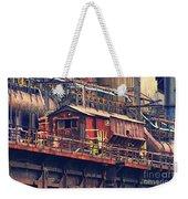 Bethlehem Steel #10 Weekender Tote Bag