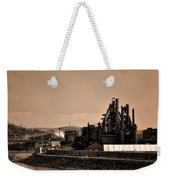 Bethlehem Steel Weekender Tote Bag by Bill Cannon