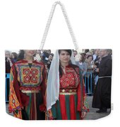 Bethlehemites In Traditional Dress Weekender Tote Bag