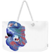 Betta Fish Weekender Tote Bag