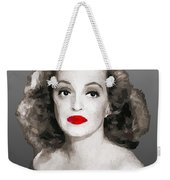 Bette Davis Draw Weekender Tote Bag