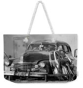 Better Days In Black And White Weekender Tote Bag