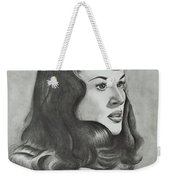 Betty Page Weekender Tote Bag