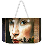 Between Closed Doors Weekender Tote Bag