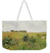 Between Geest And Marsh Weekender Tote Bag by Valentin Ruths