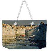 Between Icebergs - Greenland Weekender Tote Bag