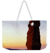 Between Rock And Sky Weekender Tote Bag