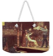 Between Rounds Weekender Tote Bag by Thomas Cowperthwait Eakins