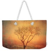 Between Two Benches Weekender Tote Bag