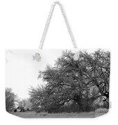 Between Two Trees Weekender Tote Bag