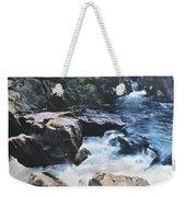Betws-y-coed Waterfall Weekender Tote Bag