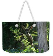 Beverly Hills Deer Weekender Tote Bag