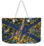 Beverly Hills Streets, Aerial View Weekender Tote Bag