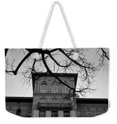 Beverly Wilshire Hotel - Beverly Hills - Black And White Weekender Tote Bag