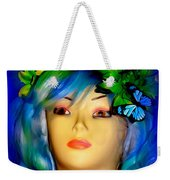 Beverlys Blue Butterflys Weekender Tote Bag
