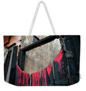 Beware All Who Enter Here - Halloween Gate Weekender Tote Bag