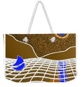 Beware Of Sharks Weekender Tote Bag